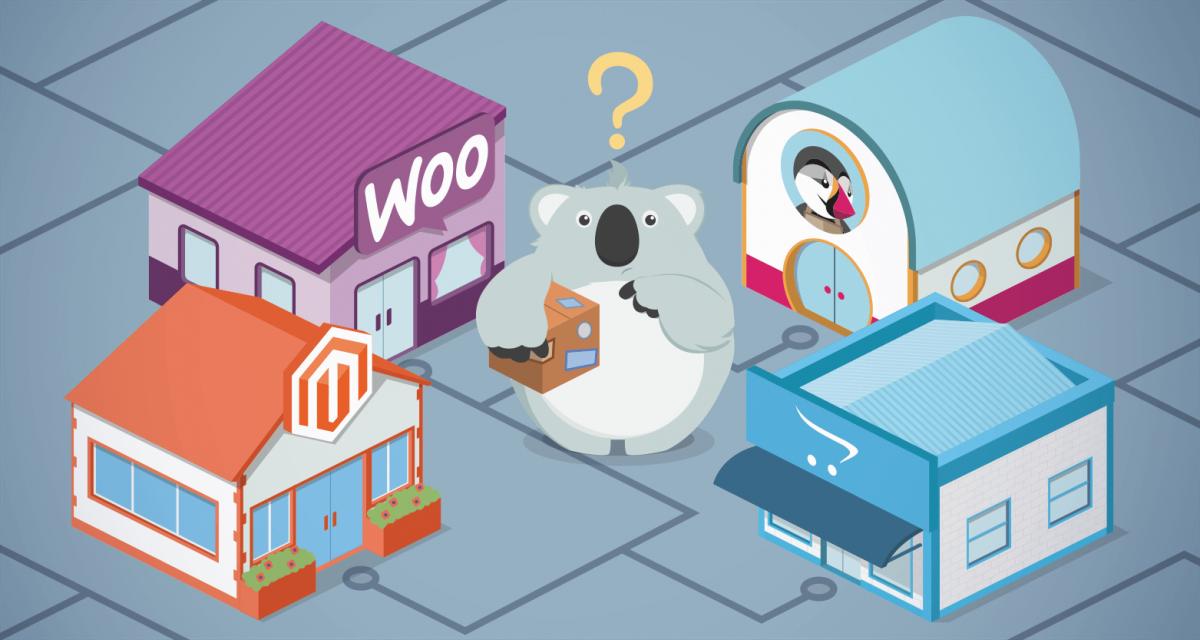 Guia de plataformas de e-commerce: Magento, OpenCart, WooCommerce e PrestaShop