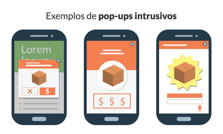 Google e a Punição aos Pop-ups Mobile