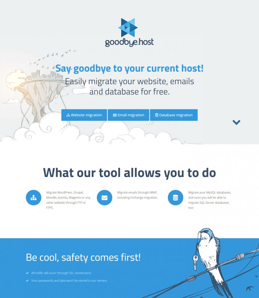 Migração WordPress Goodbye.host