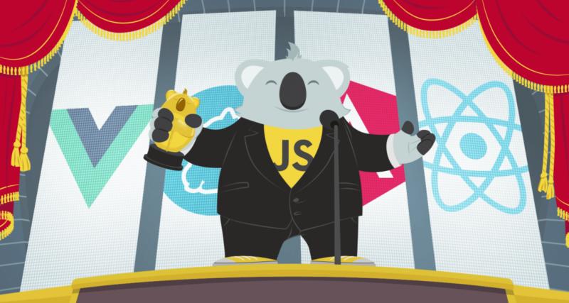As estrelas do JavaScript em 2016