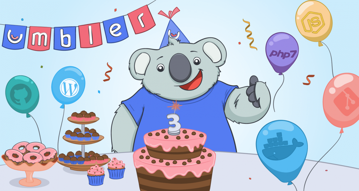Happy Birthday to Umbler: 3 anos de excelência no mercado de cloud hosting
