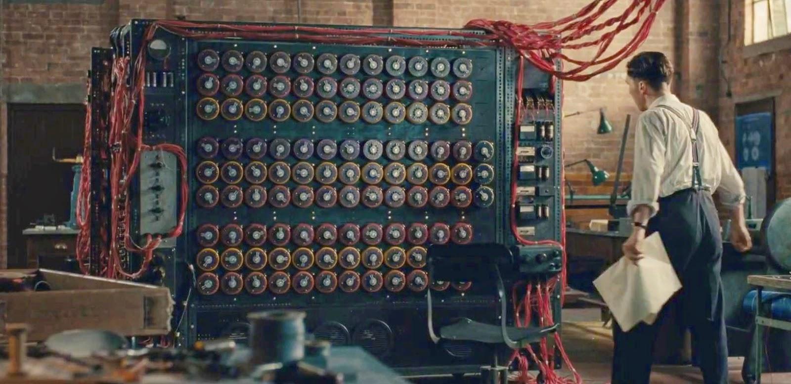 Imagem do Filme O Jogo da Imitação, inspirando na história de Turing