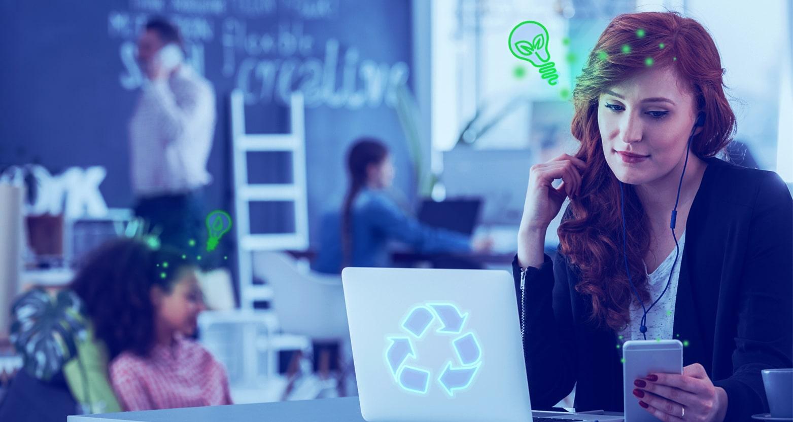 Como ser uma agência ecológica: 5 passos!