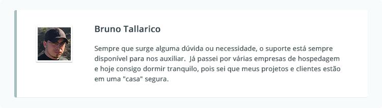 Depoimento Bruno Tallarico