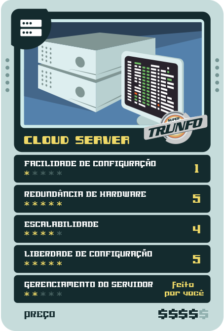 Super Trunfo do Hosting - Cloud server