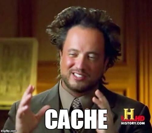 CDN Cache Meme
